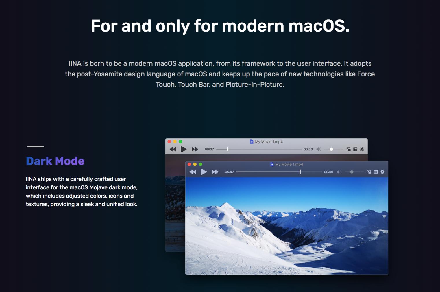 Mac対応「IINA」は映像ディレクター絶賛の動画再生プレイヤー