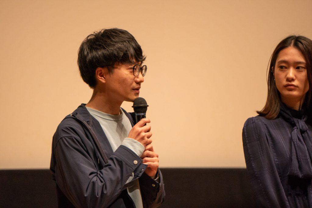 映画『長生ノスタルジア』完成披露上映会 & 舞台挨拶_安田瑛己監督