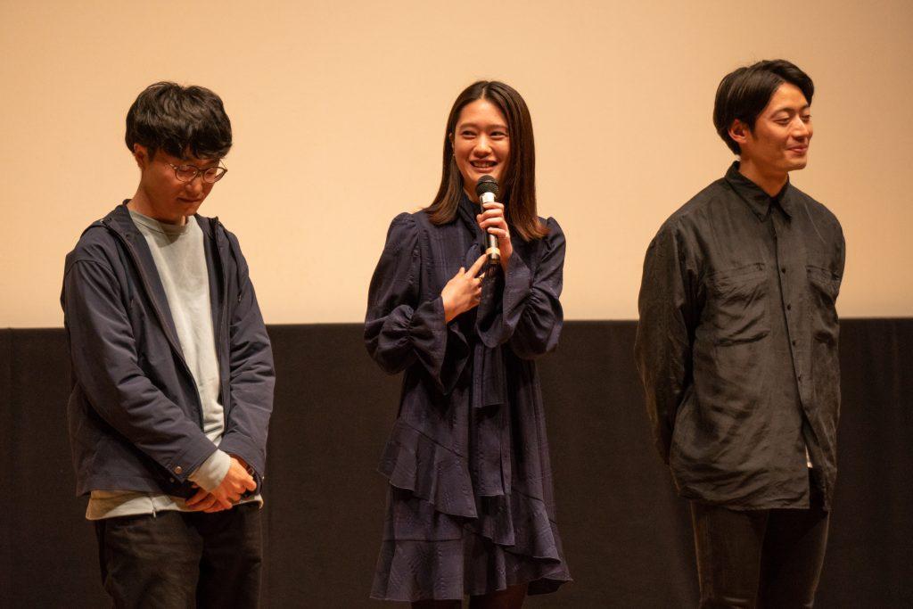 映画『長生ノスタルジア』完成披露上映会 & 舞台挨拶