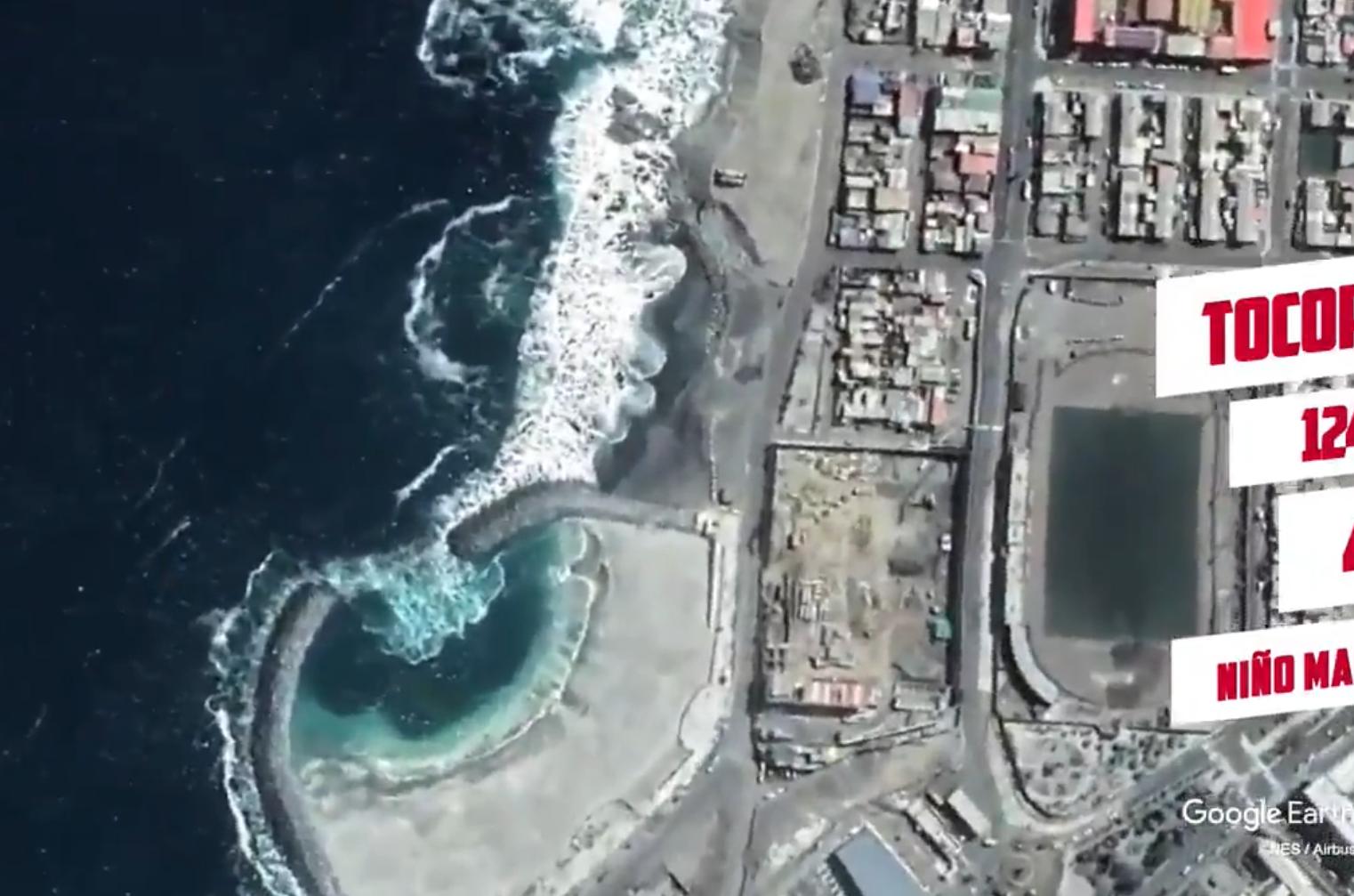 サッカーのチリ代表が空撮を使った選手紹介動画を作成