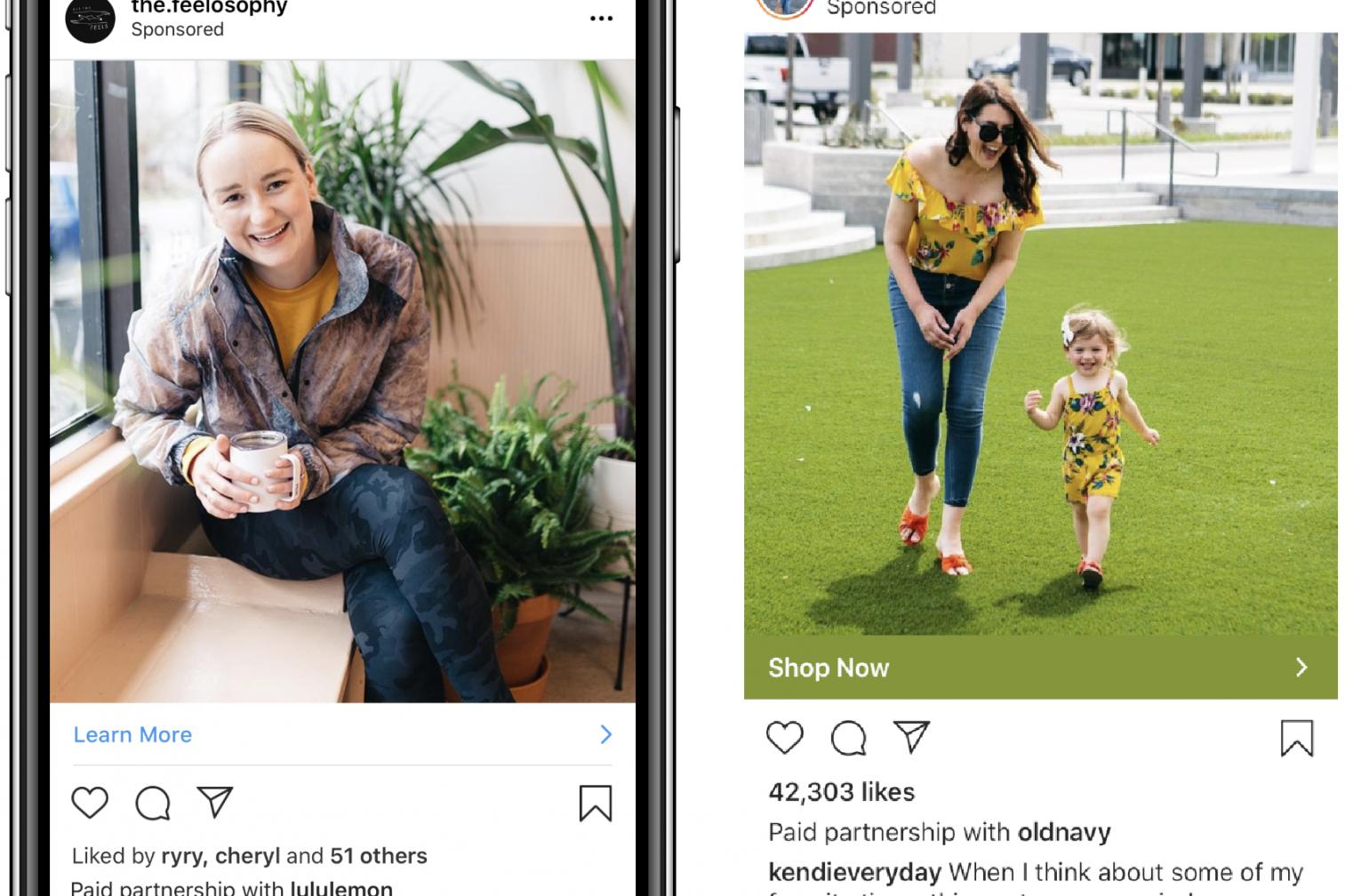 Instagramが「ブランドコンテンツ広告」を提供開始