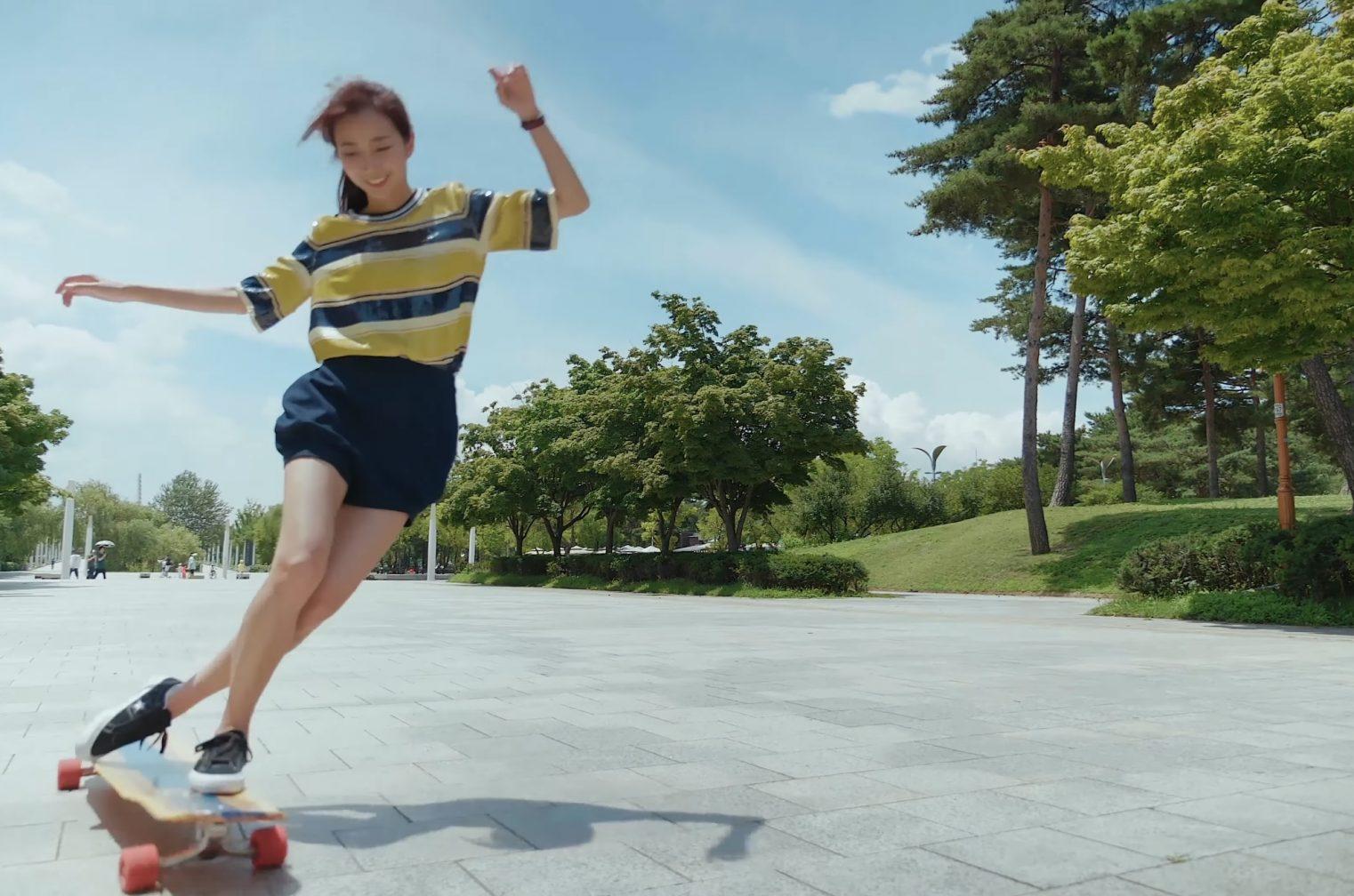 ロングスケートボード×映像の可能性